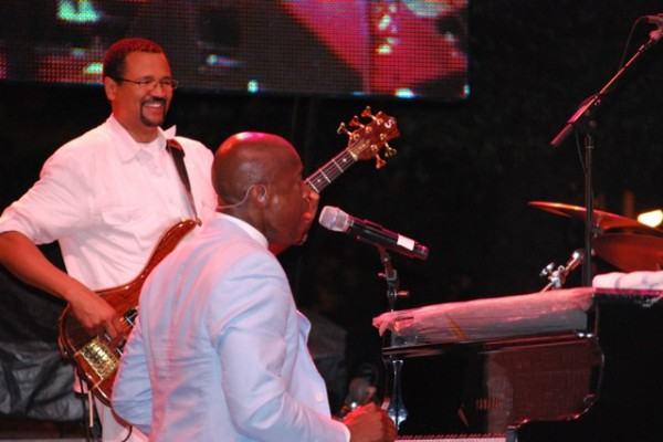 Al Turner with Kem at The Clifford Brown Jazz Fest